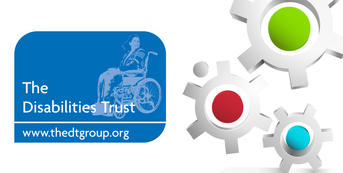 The Disabilities Trust logo