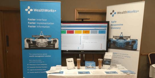 WealthWorks+ Exhibition Stand