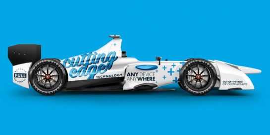 The WealthWorks+ F1 Car
