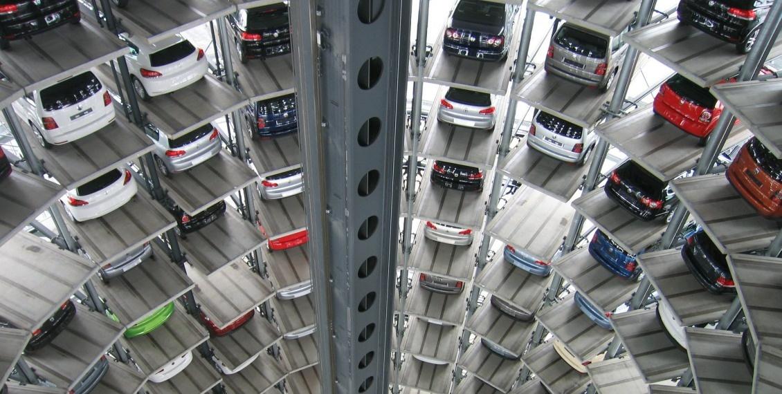Image of a highrise carpark